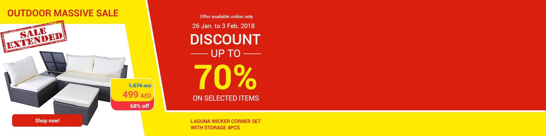 Carrefouruae Offers with massive Outdoor Clearance Sale