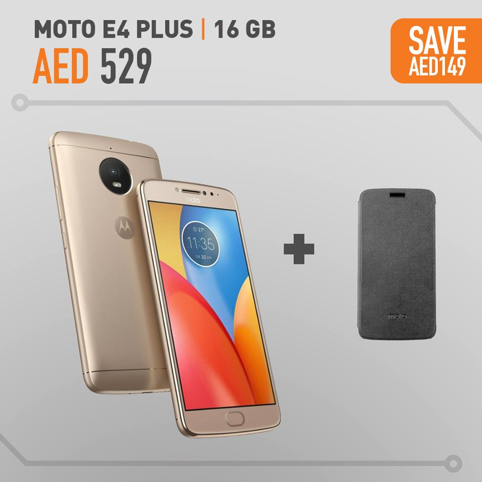 Moto E4 Plus Offers In Axiom Telecom - UAE DUBAI OFFERS
