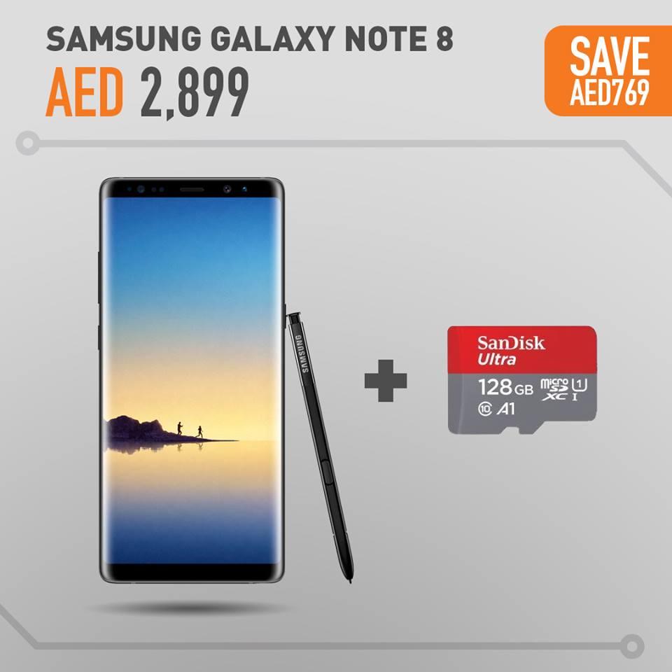 Samsung Galaxy Note 8 Offers In Axiom Telecom - UAE DUBAI OFFERS