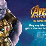 Win Marvel Avengers Infinity War 2018