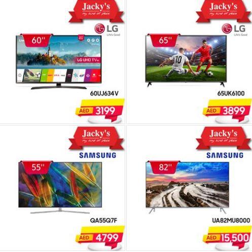 Jackys Smart 4K TV Offers