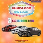 Shop and win car