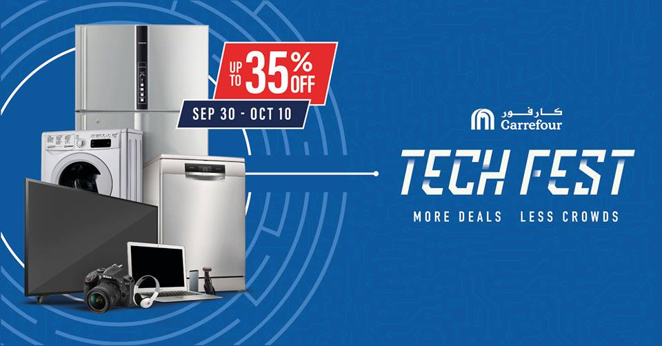 Carrefour Tech Fest Electronic Offers