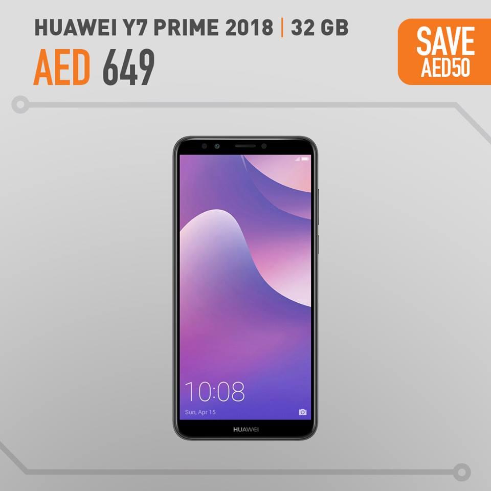 Huawei Y7 Prime Best Price Offers In Axiom - UAE DUBAI OFFERS DEALS